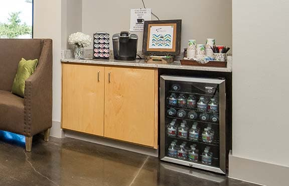 Coffee Bar with Snacks and Drinks